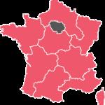 La région Ile de France de l'Acf