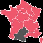 La région Midi Pyrénées de l'Acf